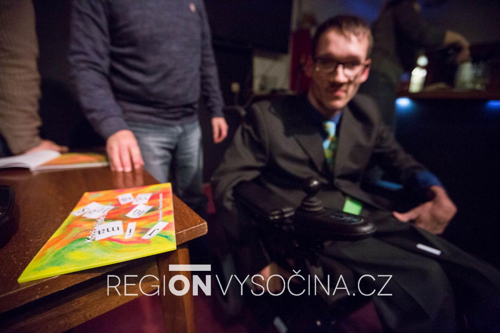 Václav Beránek pokřtil svou prvotinu